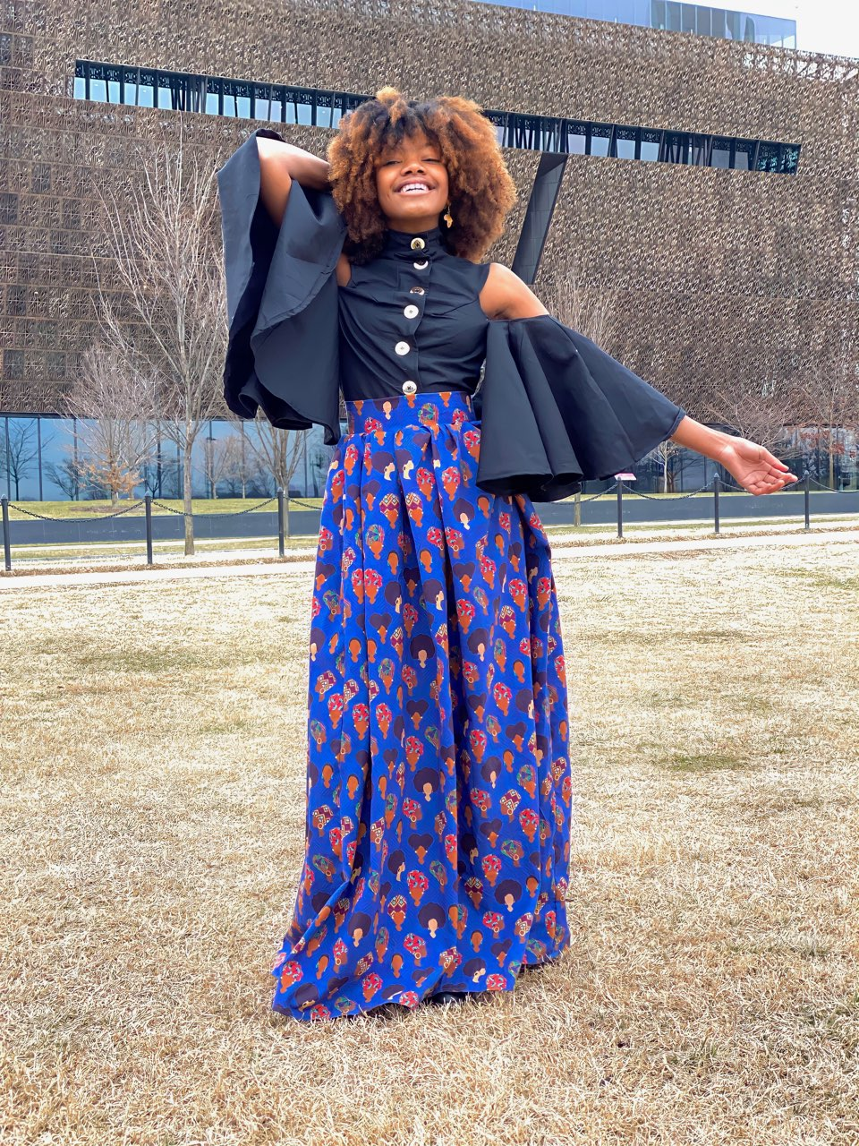 Black History Month Skirt